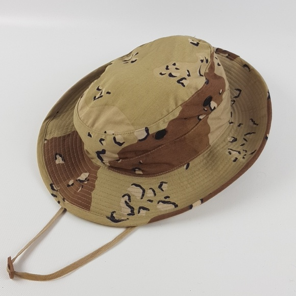 Vintage military chocolate chip boonie hat. M 5b4df68703087c9f415152e8 e8ec9ab6e4d